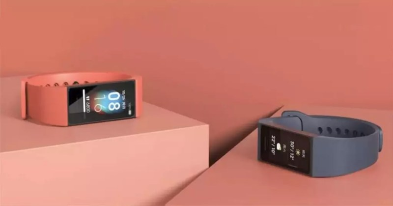 Immagine promozionale di Smartband Xiaomi Redmi Band