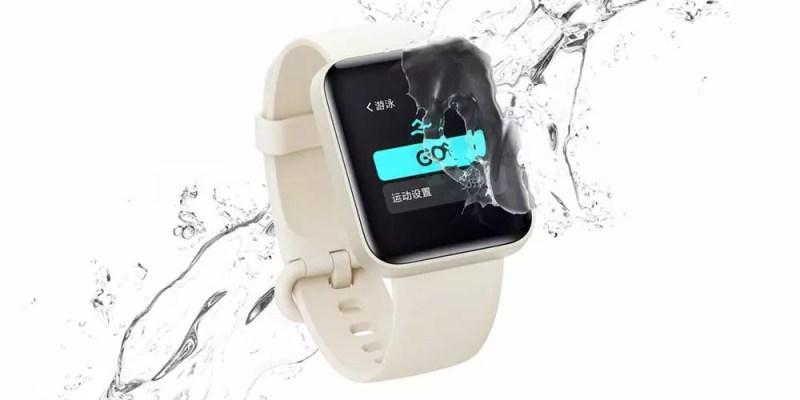 Xiaomi Redmi Watch con acqua