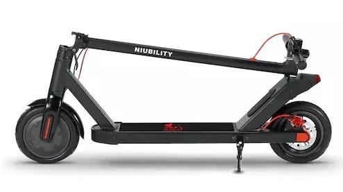Scooter elettrico NIUBILITY N1 piegato