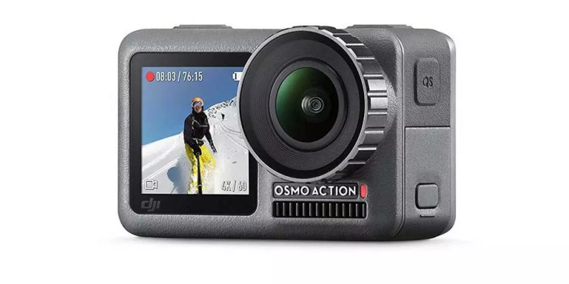 DJI Osmo Action fotocamera frontale