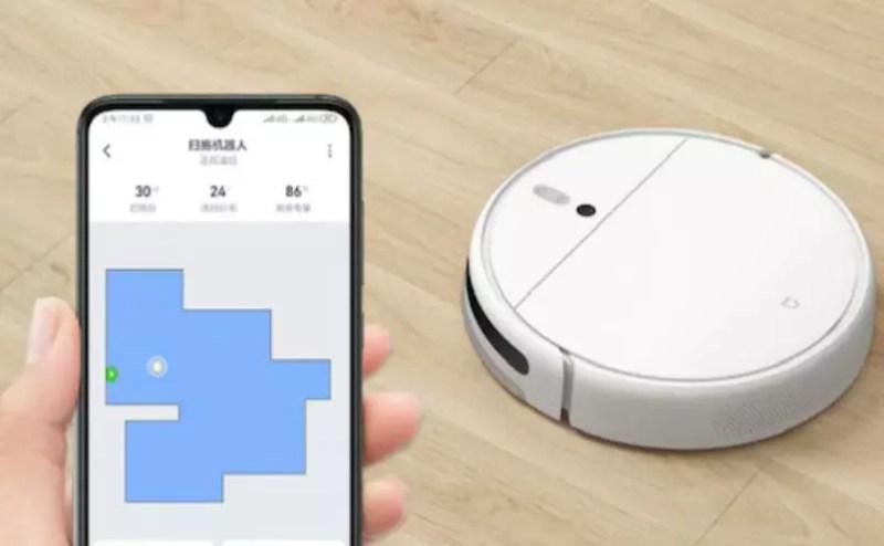 Controllo app aspirapolvere robot Xiaomi mijia 1c
