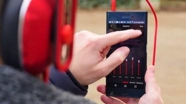 Ecualizador en la aplicación 1MORE Wireless Titanium