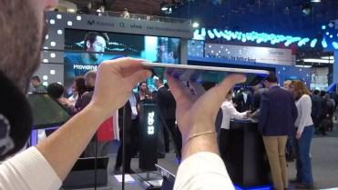 Lateral del tablet Samsung Galaxy Tab S3
