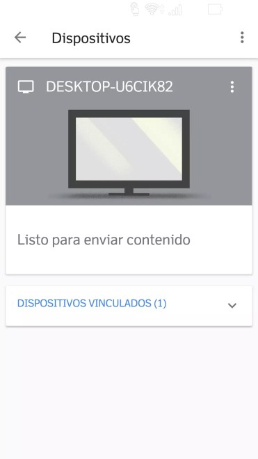 Ordenador encontrado en Google Home