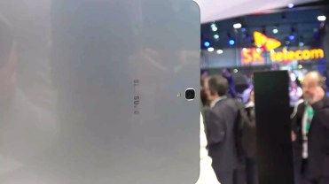 Trasera del tablet Samsung Galaxy Tab S3