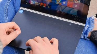 Uso de teclado Lenovo YOGA Book