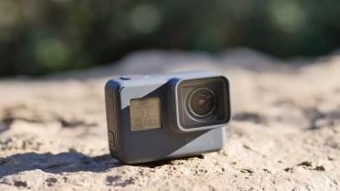 Frontal de la cámara del GoPro Hero 5