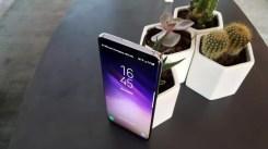 Imagen superior del Samsung Galaxy S8