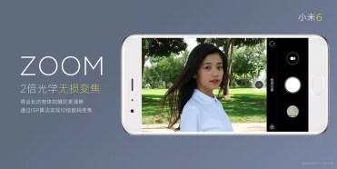 Zoom de la cámar del Xiaomi Mi 6