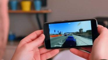 Ejecución de juego en el Moto G5