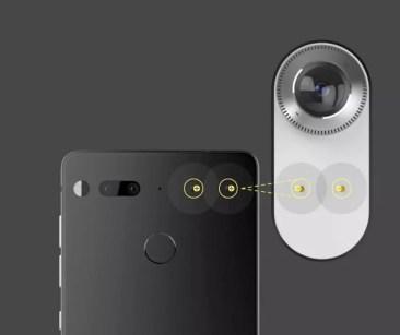 Uso de los accesorios en Essential Phone