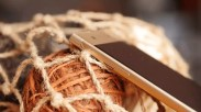 Lateral del teléfono Sony Xperia XA1