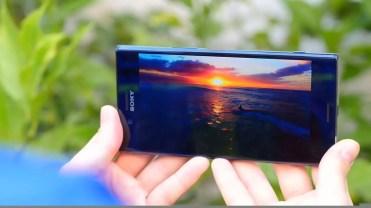 Calidad del panel del Sony Xperia XZ Premium