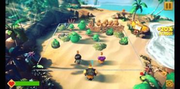 Jugando a Angry Birds Evolution