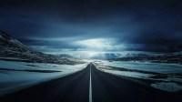 Fondos de pantalla inspirados en la naturaleza carretera nevada