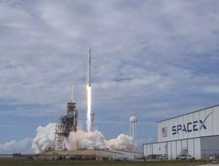 Cohete Falcon de SpaceX