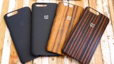 Acabados de las fundas del OnePlus 5