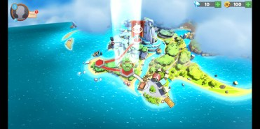 Isla Angry Birds Evolution