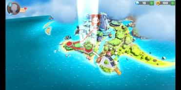 Isla Angry Birds Evolution