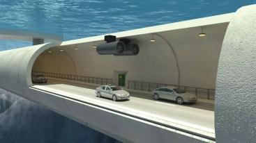 Tunel flotante Hyperloop One