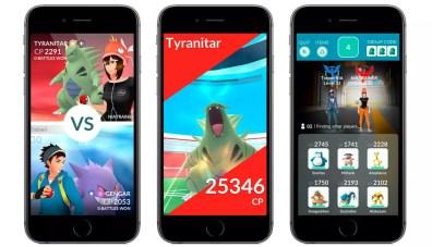 Nuevas opciones en Pokémon Go