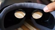Lentes de las Samsung Gear VR
