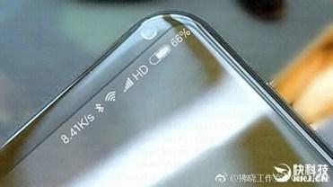 Cámara frontal del Xiaomi Mi Note 3