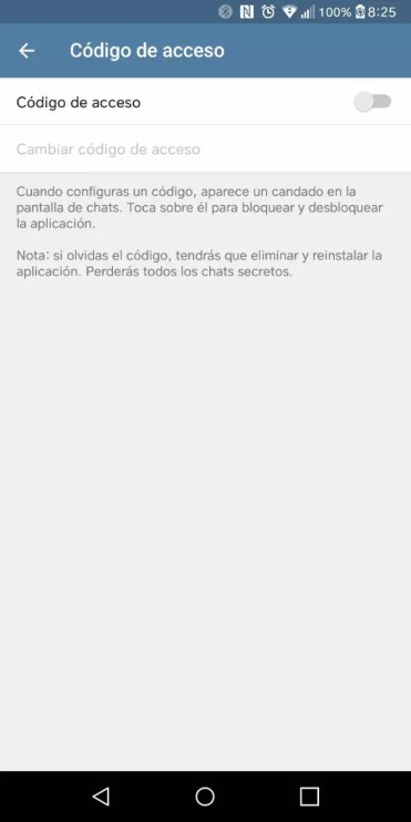 Codigo Telegram