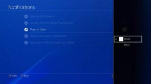 Interfaz de usuarios en PlayStation 4 5.0