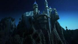 Castillo en juego Minecraft