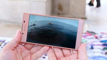 Calidad del panel del Sony Xperia L1