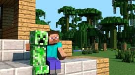 Personajes amigos en Minecraft