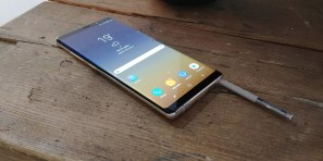 S Pen el el Samsung Galaxy Note 8