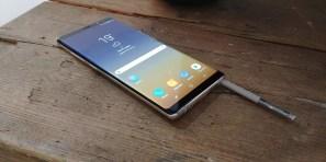 S Pen el el Samsung Galaxy Note 8