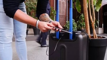 Uso USB Bluesmart Luggage
