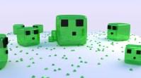 Cuadrados en Minecraft