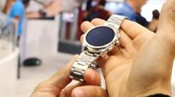 Acabado del smartwatch de Michael Kors