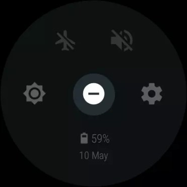 No molestar android Wear