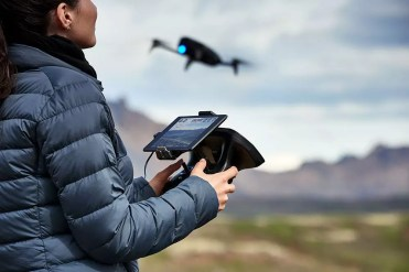 Uso del drone Parrot Bebop 2 Power