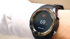Ritmo cardíaco en el Huawei Watch 2
