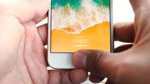 Uso lector de huellas del iPhone 8