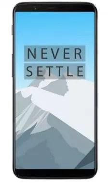 Aspecto del OnePlus 5T