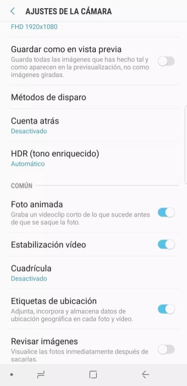 Animada Samsung Galaxy Note 8