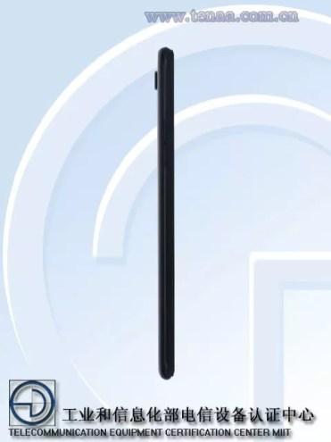 Imagen lateral del Oppo A73