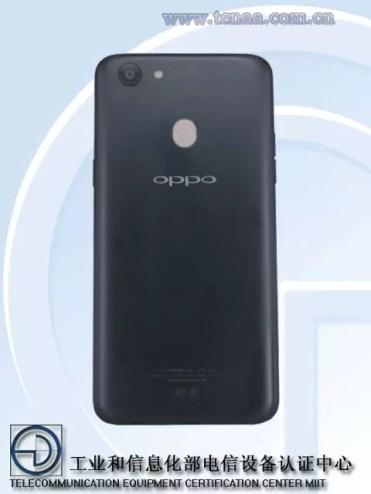 Imagen trasera del Oppo A73