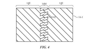 Patente apple pantalla flexibñe