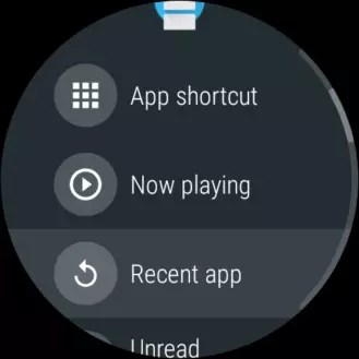 Reciente Android Wear 2.6