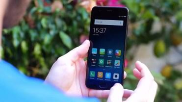 Imagen frontal del Xiaomi Mi6