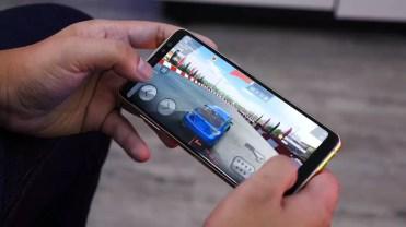 Uso del un Samsung Galaxy A8