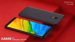 Xiaomi Redmi 5Plus fondo rojo